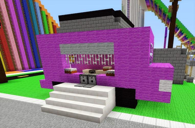 Minecraft Food Truck Tanisha S Craft