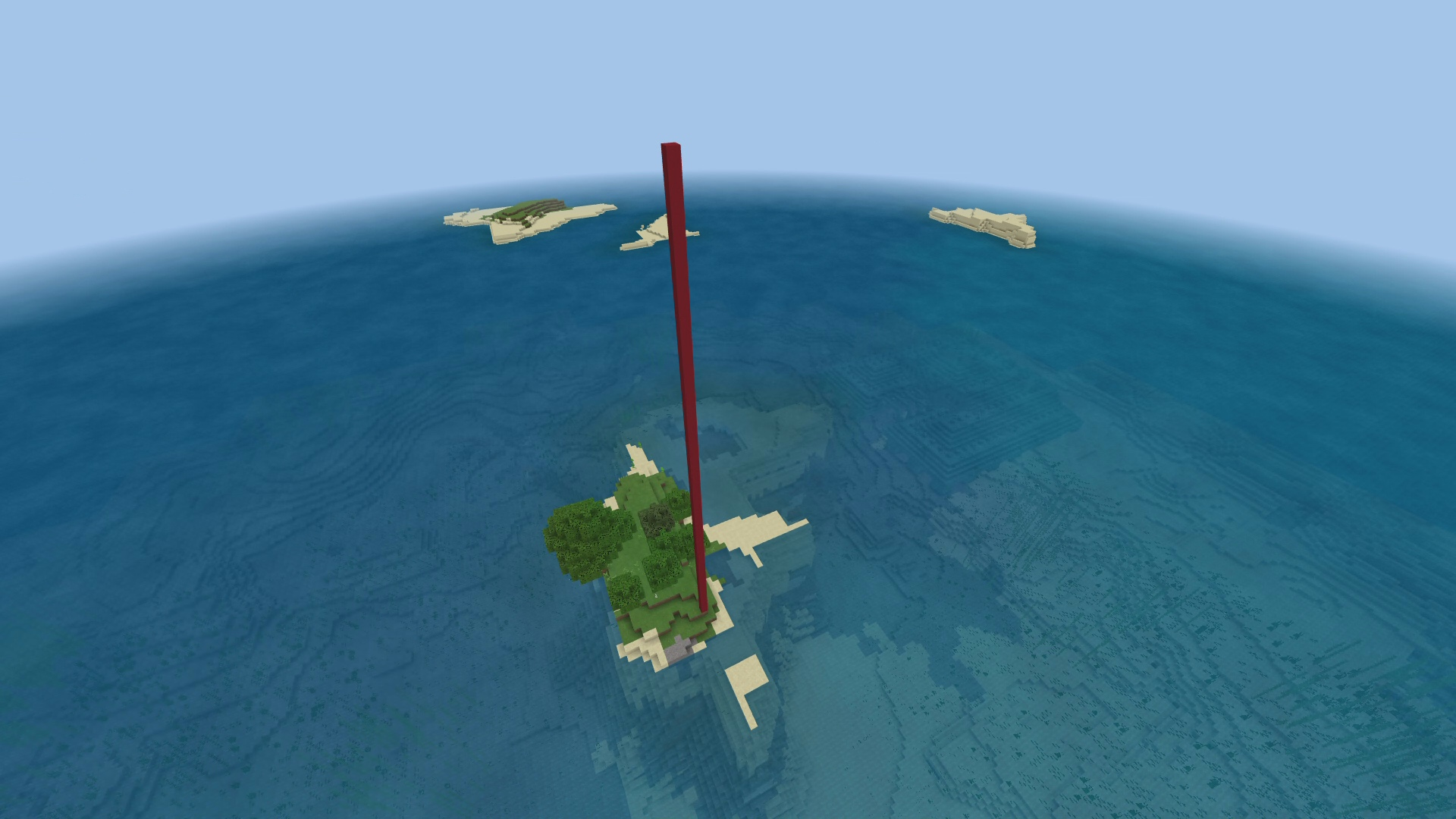 minecraft lonely island seed xbox one 2018