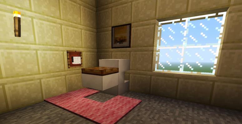 Minecraft Bathroom Furniture | Tanisha's Craft
