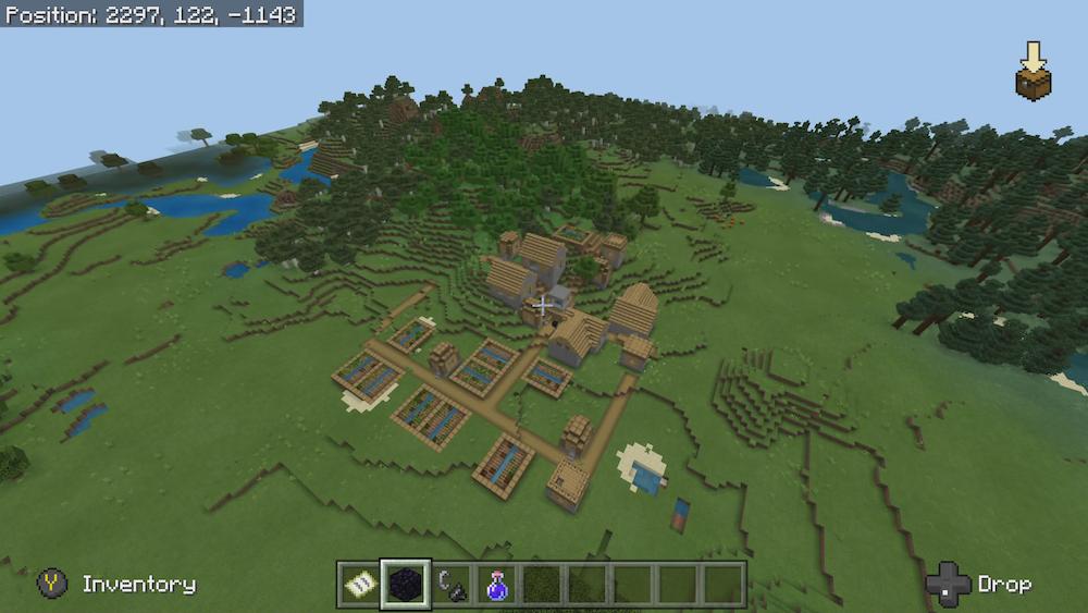 All Biomes Minecraft Bedrock Seed | Tanisha's Craft