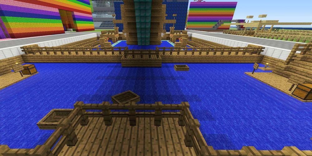 Minecraft Bumper Boats Tanisha S Craft