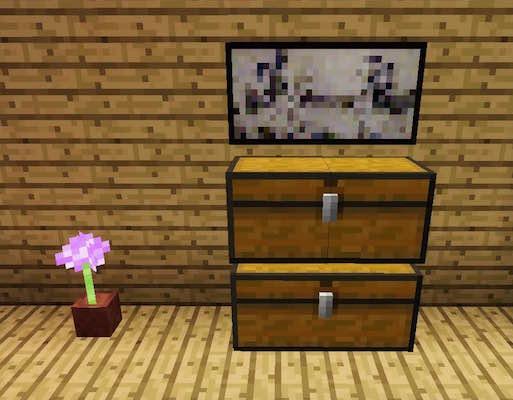 Minecraft Dressers