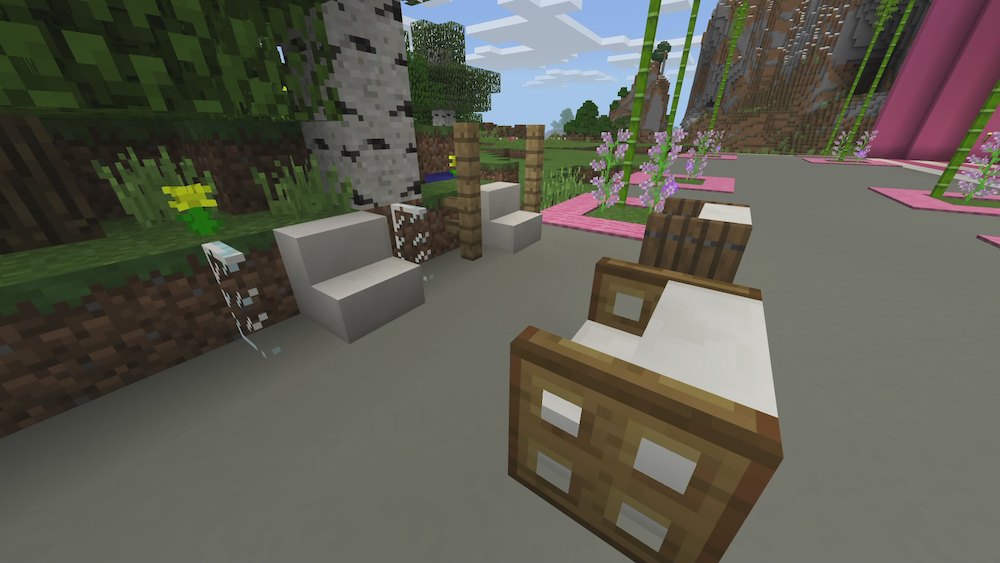 Minecraft Dining And Living Room Furniture Tanisha S Craft