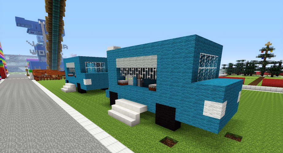 Minecraft Food Truck Tanisha S Craft