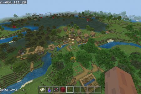MinecraftBedrockAllBiomesSwampTaigaSeedAUG2019-1.jpg