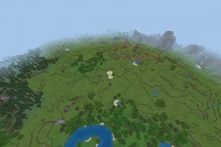 MinecraftBedrockAllBiomesTaigaSeedOct2019-Spawn.jpg