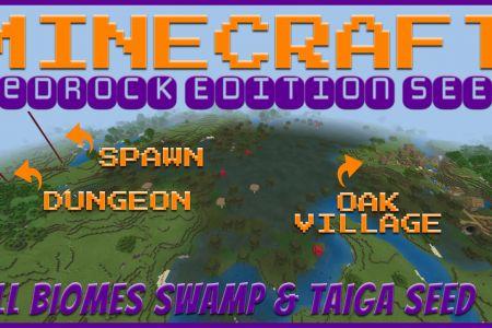 MinecraftBedrockAllBiomesSwampTaigaSeedAUG2019-YT.jpg
