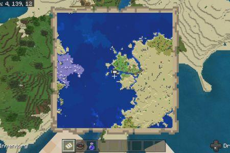 MinecraftBedrockFlowerForestSeed-SpawnMap.jpg