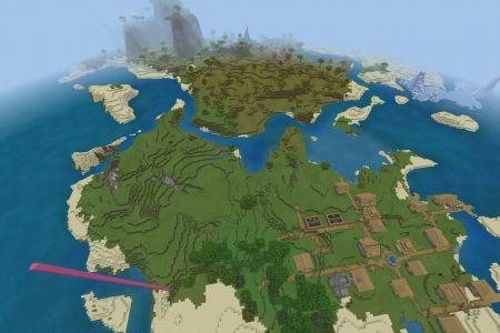 MinecraftBedrockAllBiomesDesertSeed-Spawn.jpg