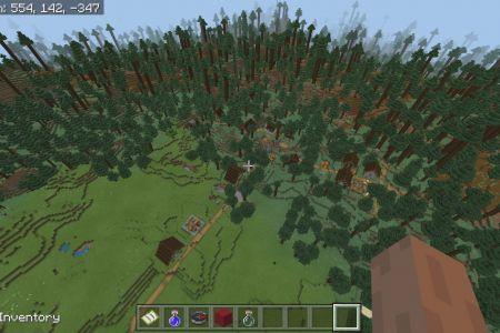 MinecraftBedrockAllBiomesSwampTaigaSeedAUG2019-6.jpg