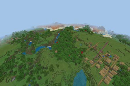 MinecraftBedrock116SeedAUG2020-Spawn.jpg