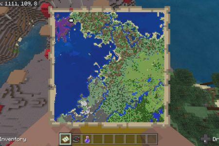 MinecraftBedrockAllBiomesMushroomIslandSeedSep2019-SpawnMap.jpg