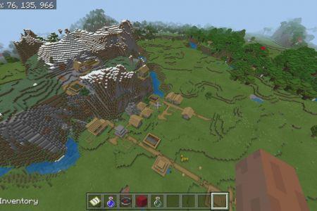 MinecraftBedrockAllBiomesSwampTaigaSeedAUG2019-7.jpg