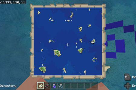 MinecraftBedrock1.14SurvivalIslandSeedFeb2020-SpawnMap.jpg