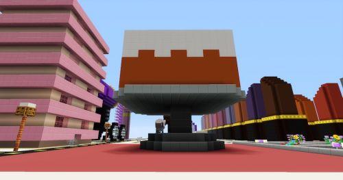 Minecraft Cake House