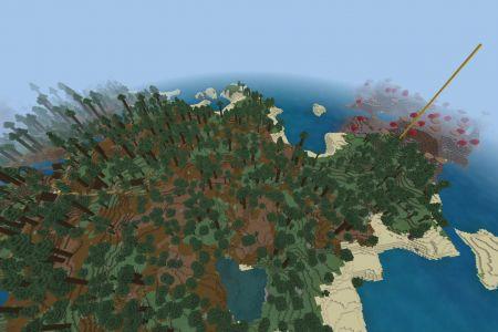 MinecraftBedrockAllBiomesMushroomIslandSeedSep2019-Spawn.jpg