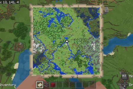 MinecraftBedrockVillageSeedAPR112020-Map.jpg