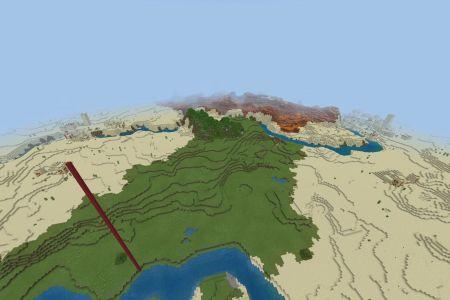 MinecraftBedrockDesertSeedSEP2020-Spawn.jpg