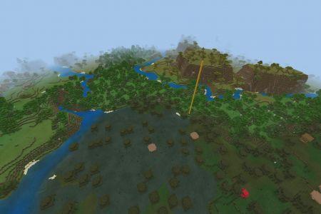 MinecraftBedrockAllBiomesSeed-Spawn.jpg