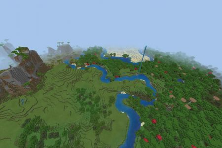 MinecraftBedrockShatteredSavannahSeed-Spawn.jpg