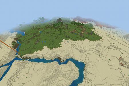MinecraftBedrockAllBiomesDesertSeedSep2019-Spawn.jpg