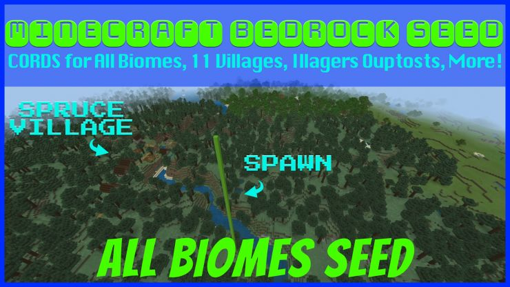 All Biomes Taiga Seed Found May 2019