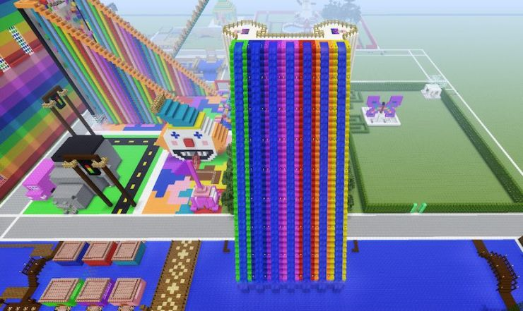 Minecraft Waterslides