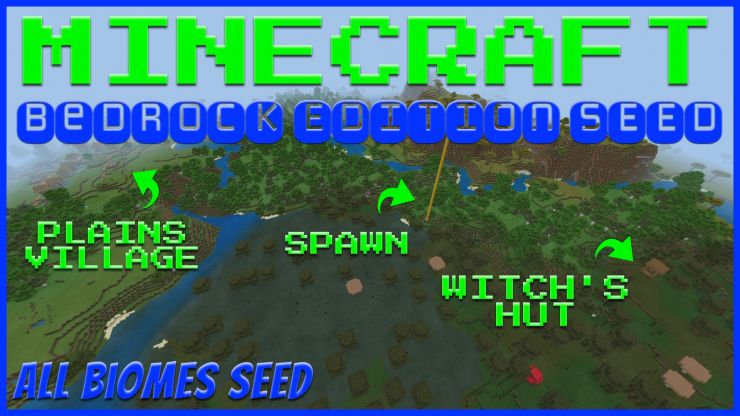 Minecraft Bedrock All Biomes Seed Oct 2019