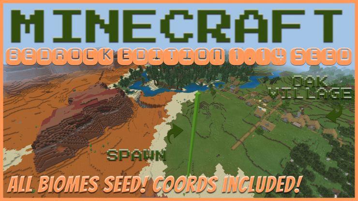 Minecraft Bedrock Mesa Seed Mar 2020 Tanisha S Craft