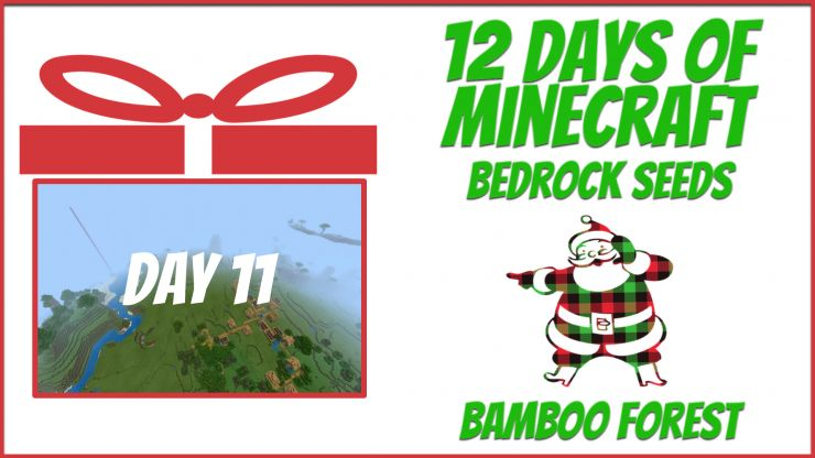 Minecraft Bedrock Bamboo forest seed pics and info