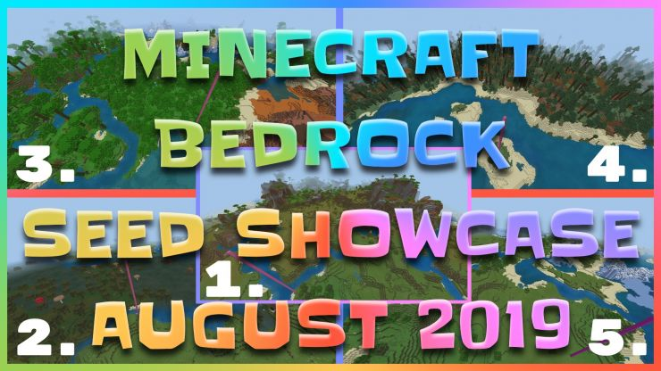 Minecraft Bedrock Seed Showcase
