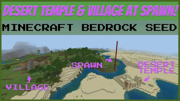 Desert Temple Village Seed APR 2019
