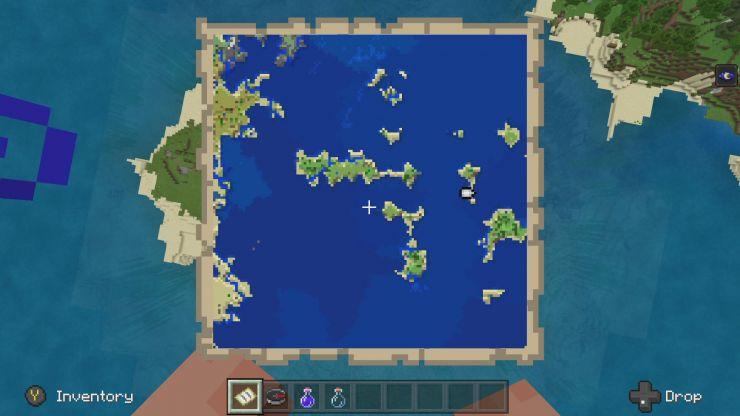 Minecraft Bedrock Seed Showcase JAN 2020 Seed 3 Map