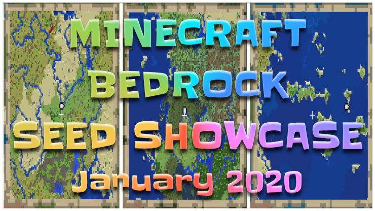 Minecraft Bedrock Seed Showcase JAN 2020