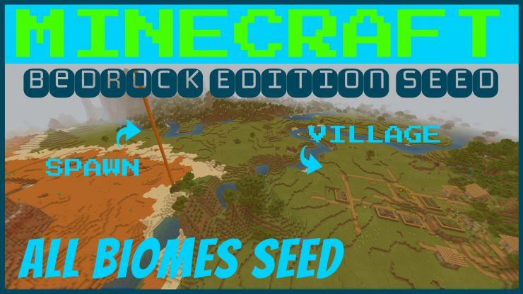 Oak Village Near Spawn Seed for Minecraft | Tanisha's Craft