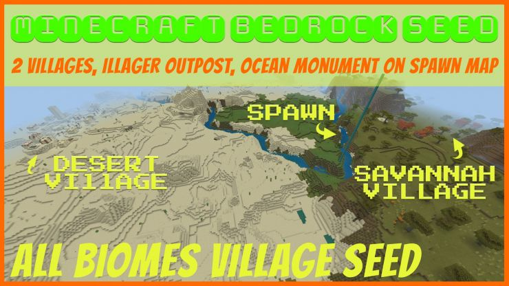 All Biomes Village Seed May 2019