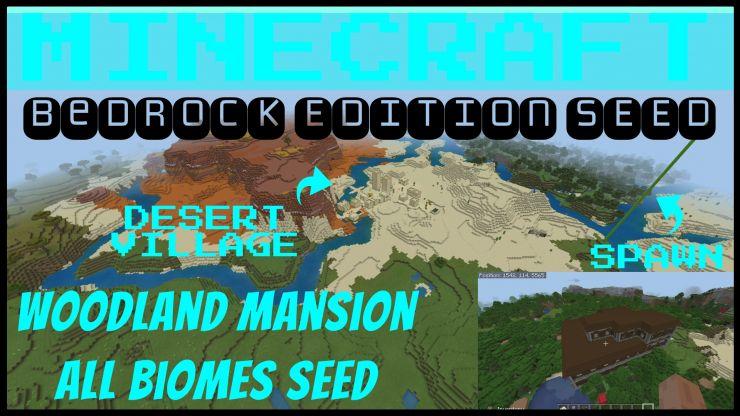 Bedrock/Better Together Seeds for Minecraft | Tanisha's Craft