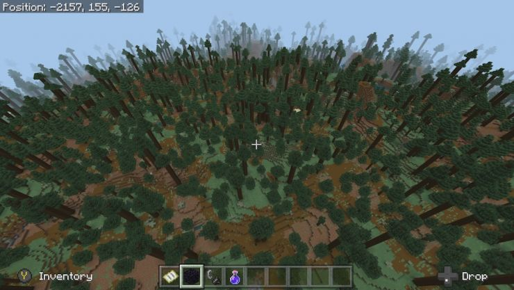 Minecraft Taiga Biome Seeds - Picture of Taiga Biome