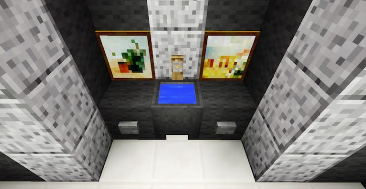 Minecraft Bathroom Furniture